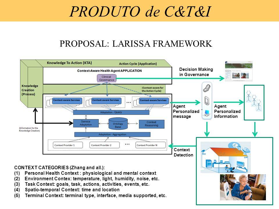 PROPOSAL: LARISSA FRAMEWORK