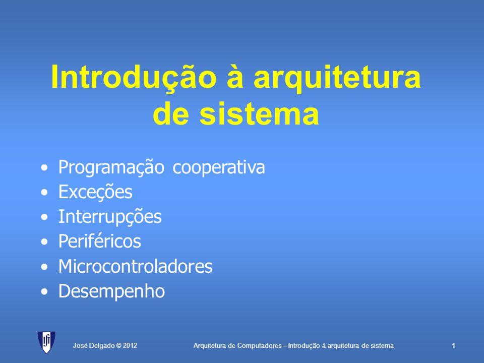Introdução à arquitetura de sistema