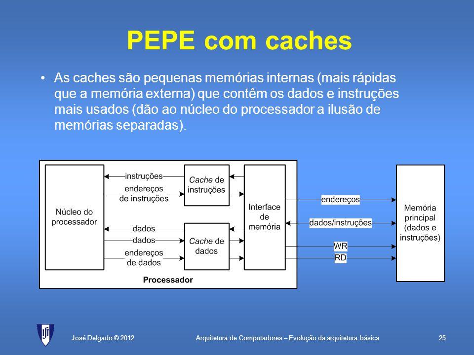 PEPE com caches
