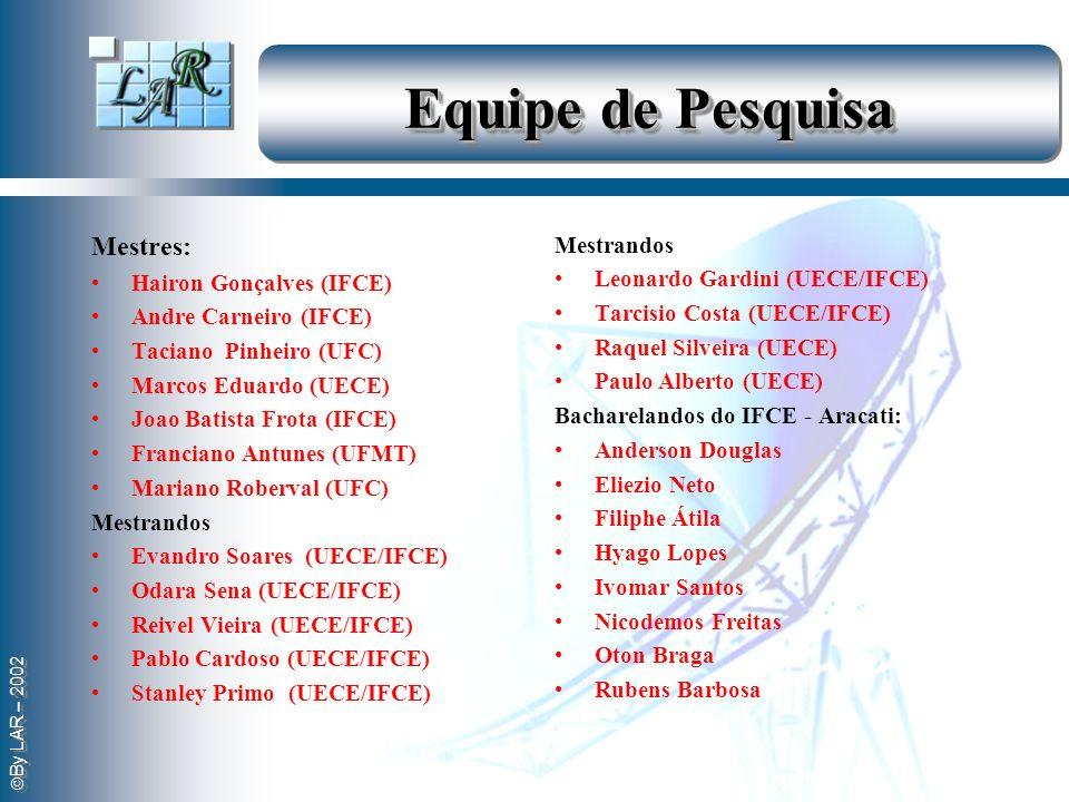 Equipe de Pesquisa Mestres: Mestrandos Hairon Gonçalves (IFCE)