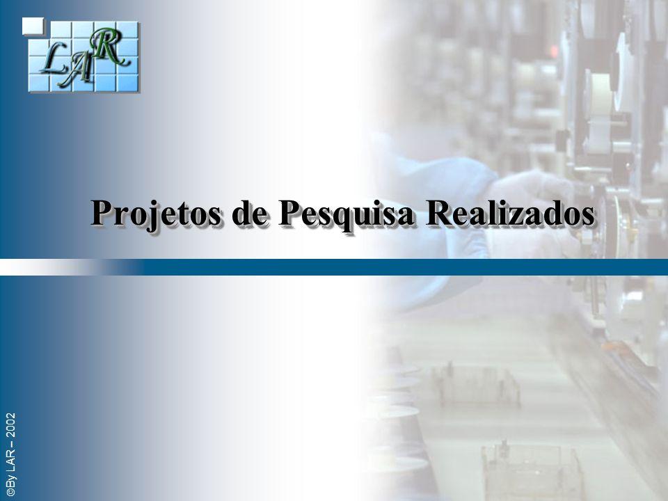 Projetos de Pesquisa Realizados