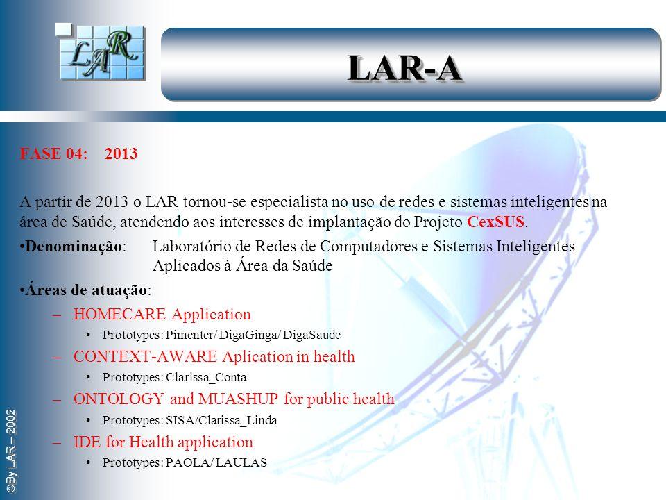 LAR-A FASE 04: 2013.