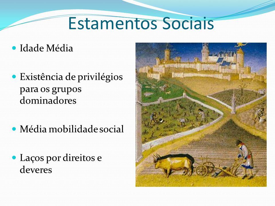 Estamentos Sociais Idade Média