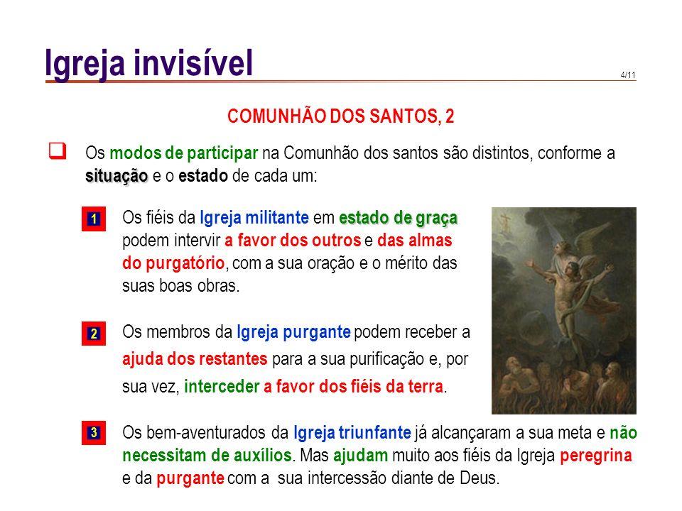 Igreja invisível COMUNHÃO DOS SANTOS, 2
