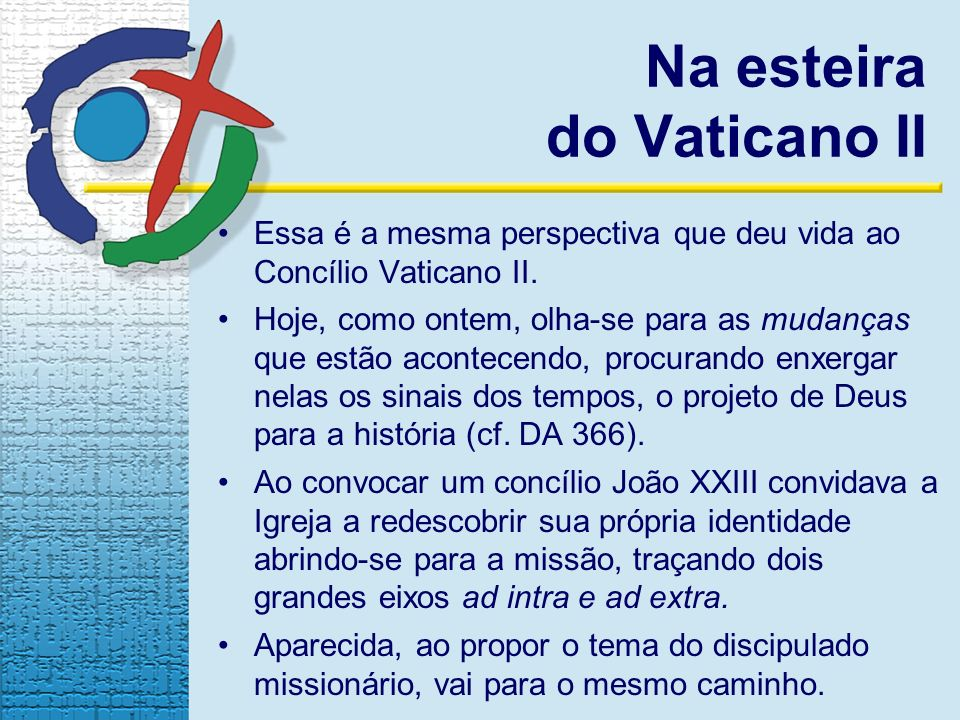 Na esteira do Vaticano II