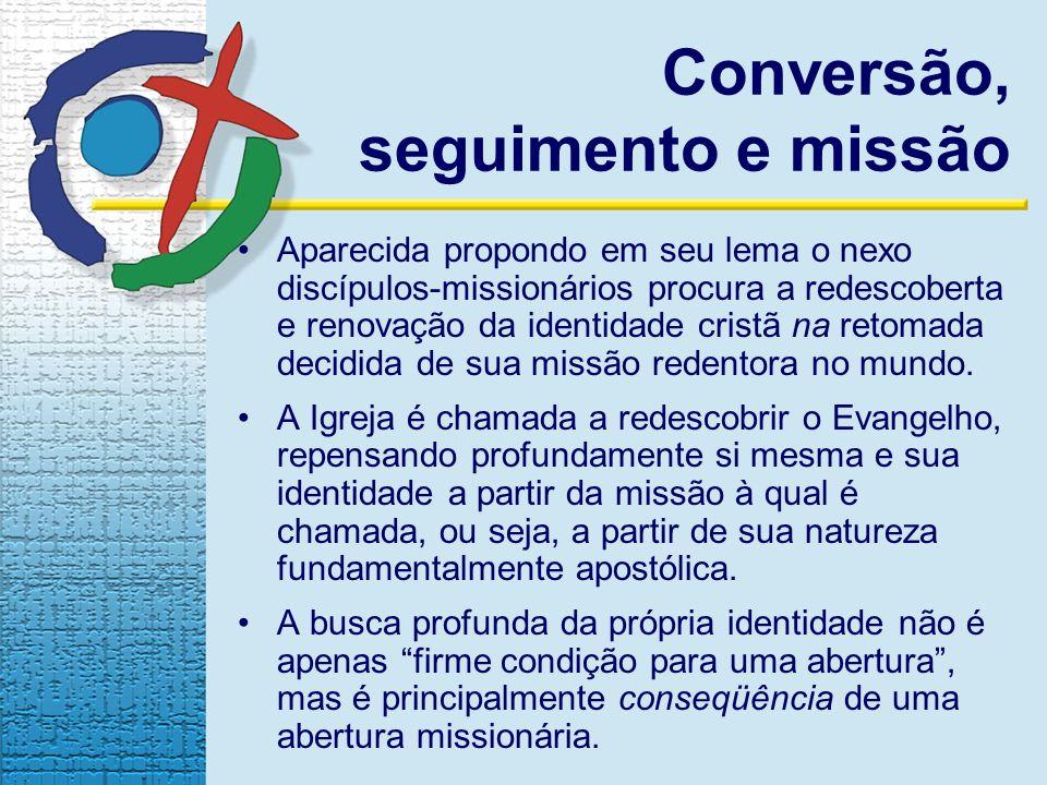 Conversão, seguimento e missão