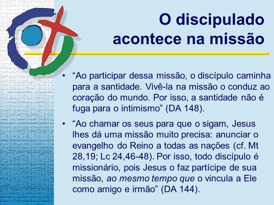 O discipulado acontece na missão