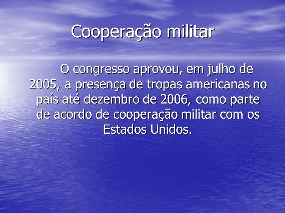 Cooperação militar