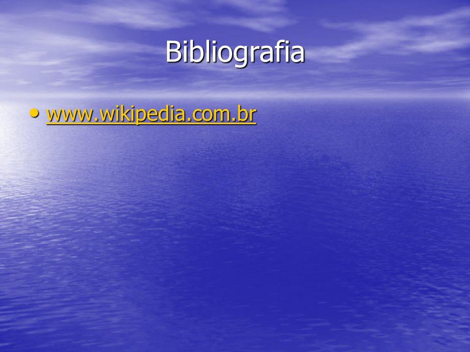 Bibliografia www.wikipedia.com.br