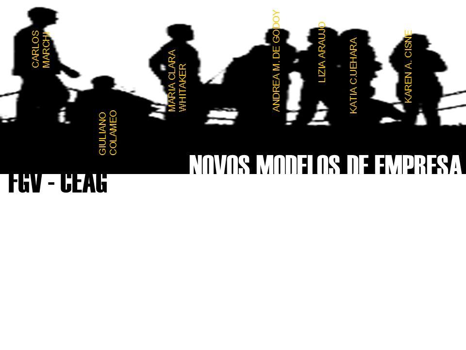 NOVOS MODELOS DE EMPRESA FGV - CEAG