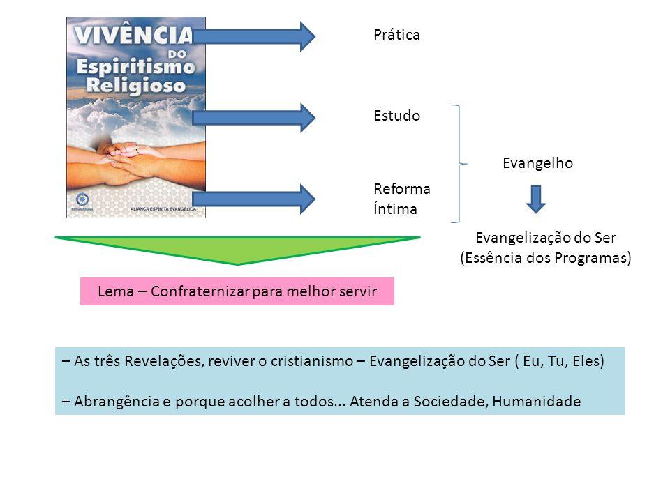 Evangelização do Ser (Essência dos Programas)