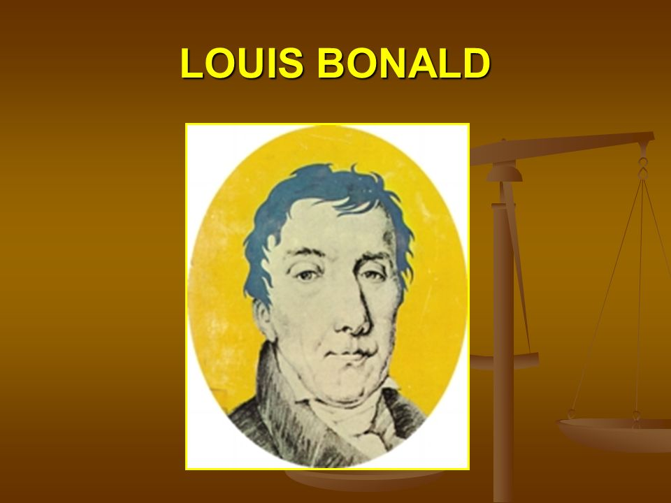 LOUIS BONALD