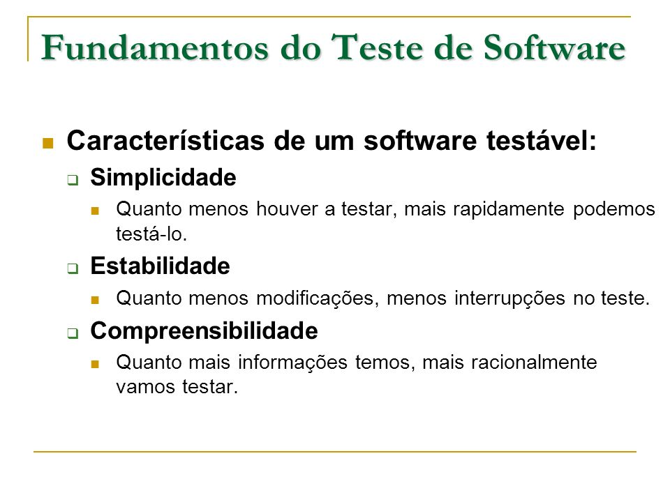 Fundamentos do Teste de Software