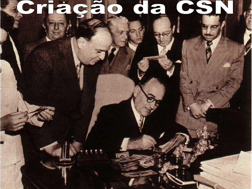 Criação da CSN