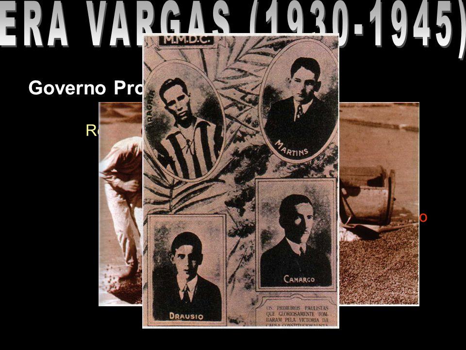 ERA VARGAS (1930-1945) Governo Provisório (1930-1934)