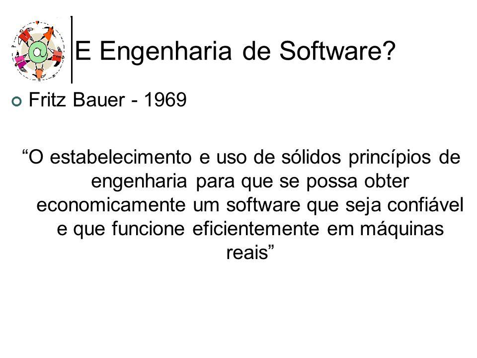 E Engenharia de Software