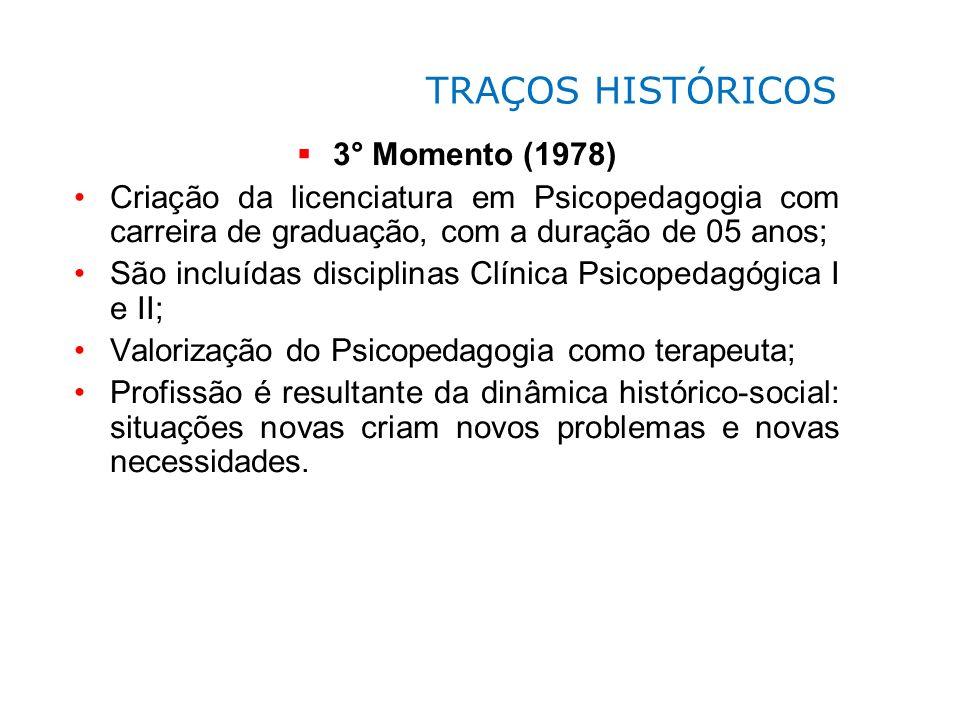 TRAÇOS HISTÓRICOS 3° Momento (1978)