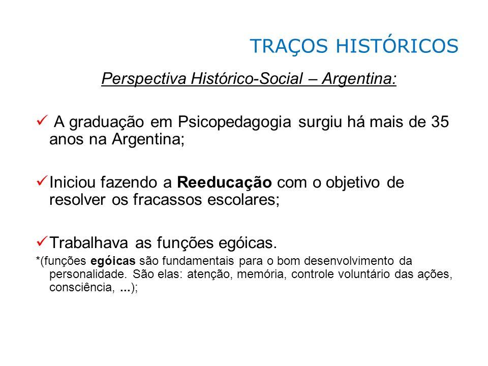 Perspectiva Histórico-Social – Argentina:
