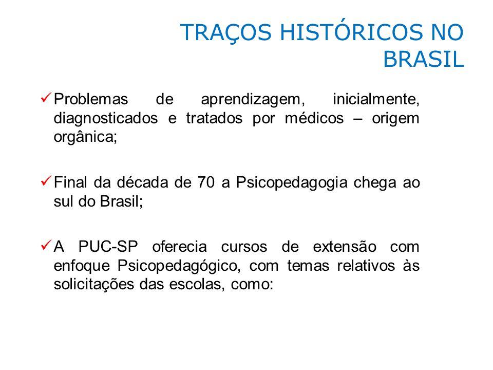 TRAÇOS HISTÓRICOS NO BRASIL