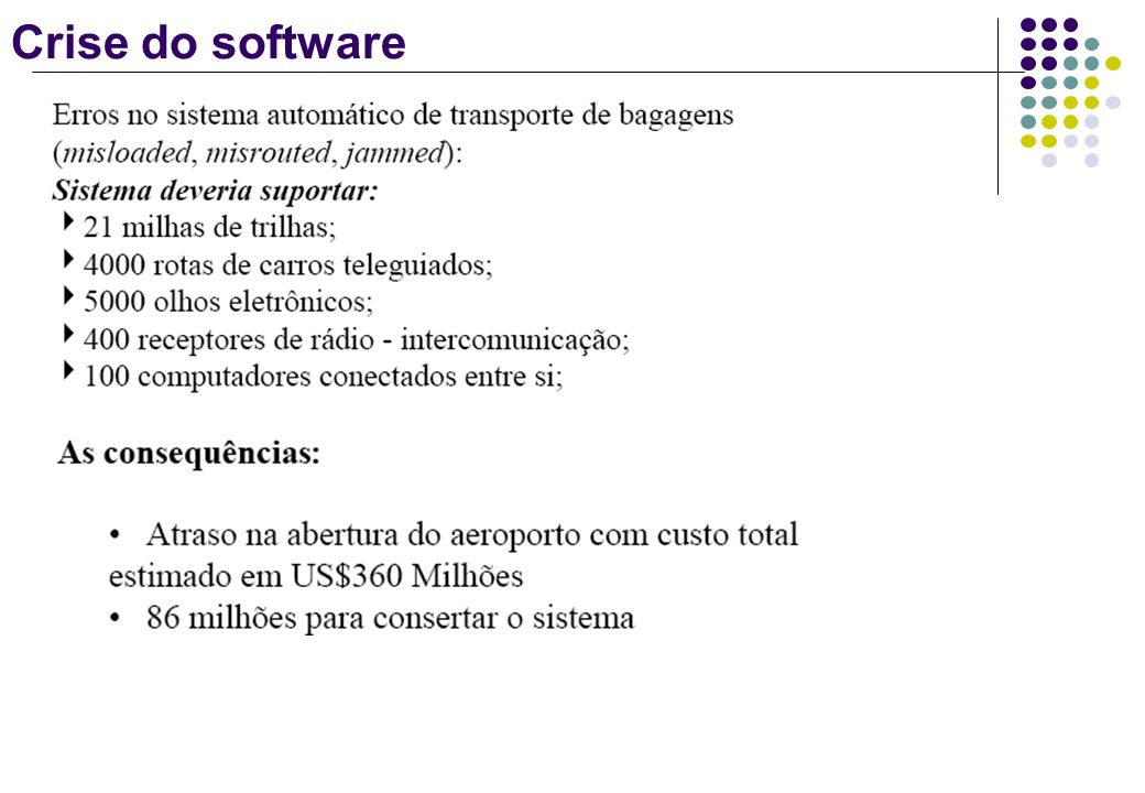 Crise do software