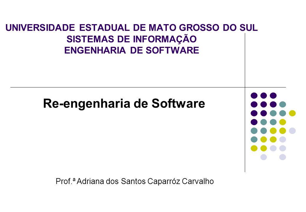 Re-engenharia de Software