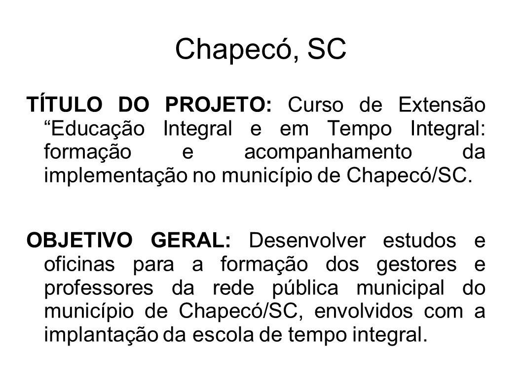 Chapecó, SC