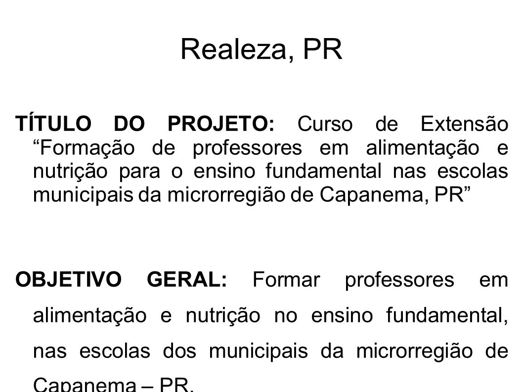 Realeza, PR