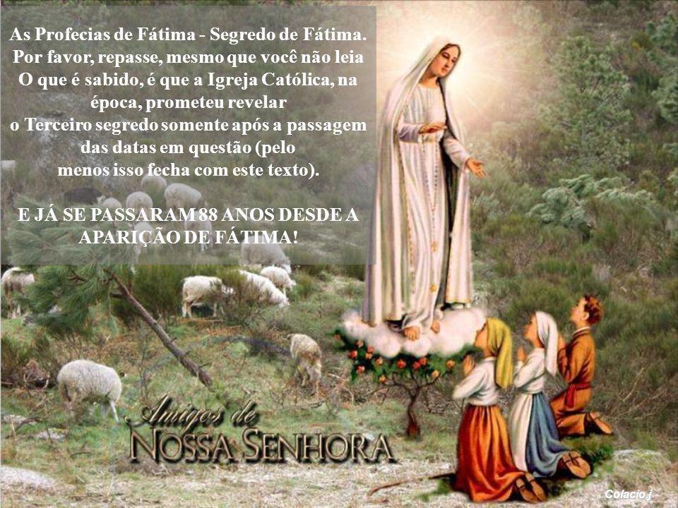 As Profecias de Fátima - Segredo de Fátima