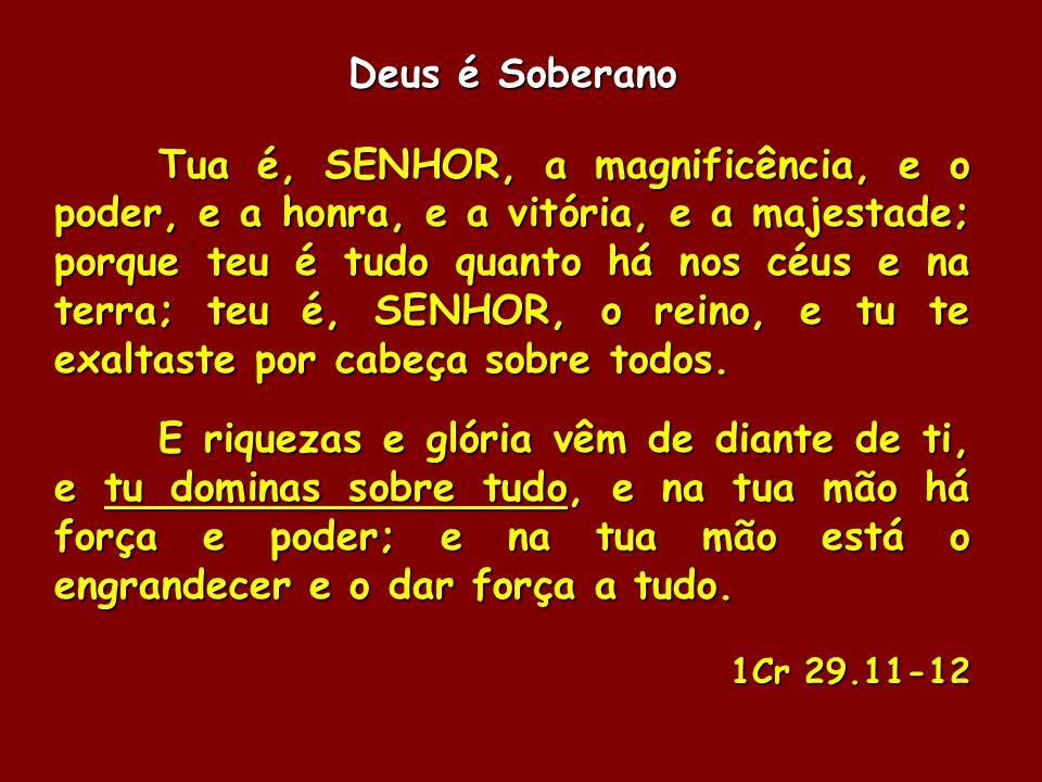Deus é Soberano