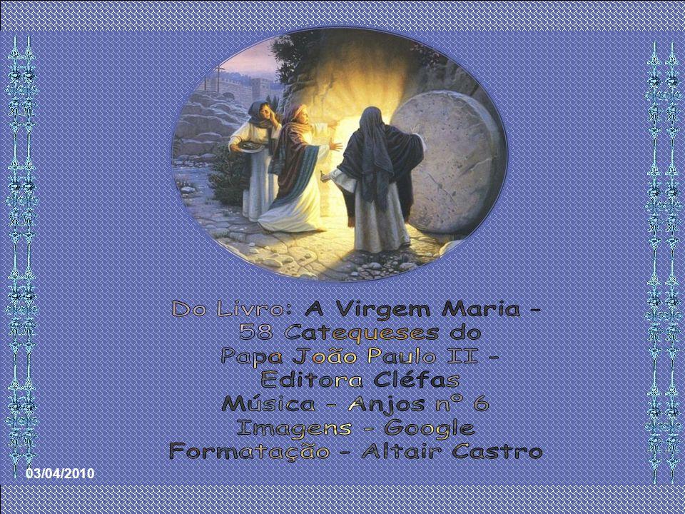Do Livro: A Virgem Maria - 58 Catequeses do Papa João Paulo II -