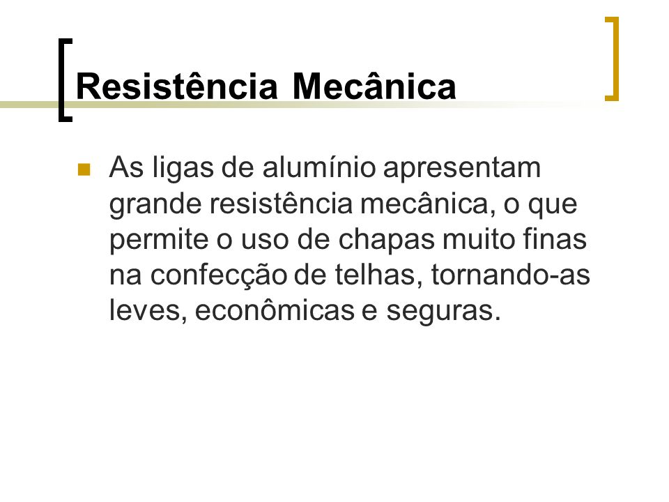 Resistência Mecânica