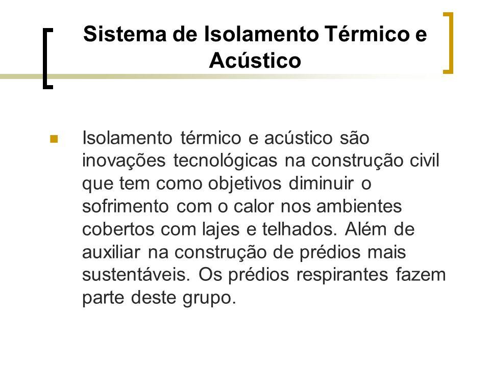 Sistema de Isolamento Térmico e Acústico
