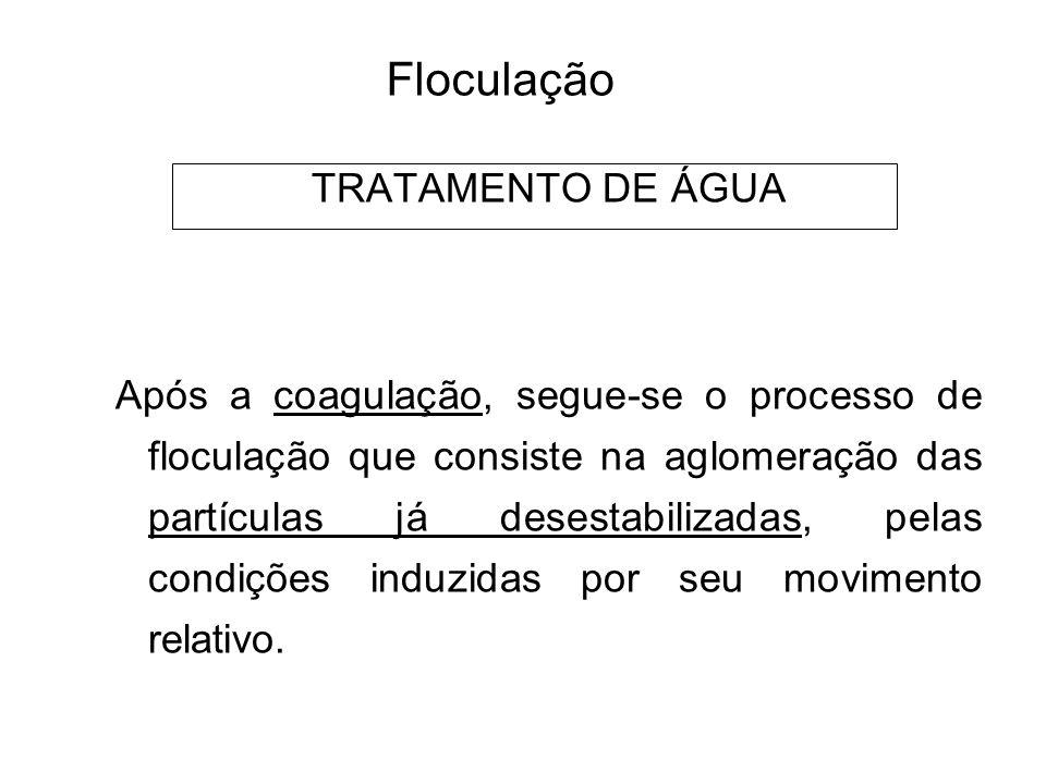 5 Floculação TRATAMENTO DE ÁGUA