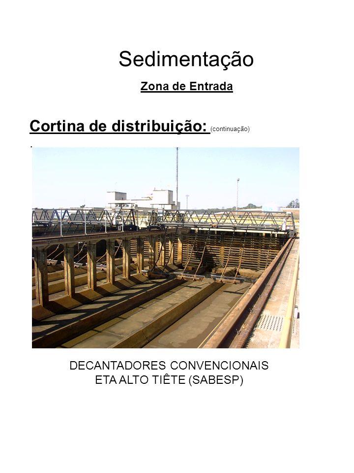DECANTADORES CONVENCIONAIS ETA ALTO TIÊTE (SABESP)