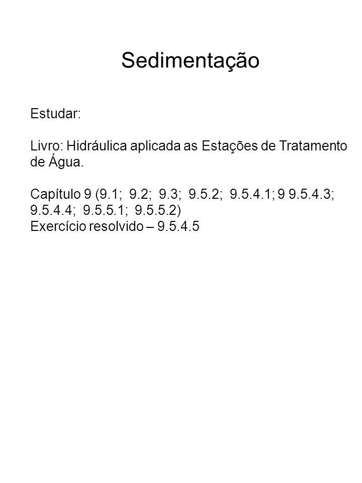Sedimentação Estudar: