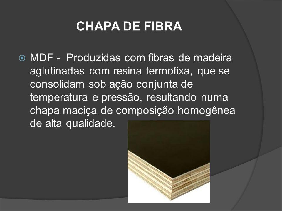 CHAPA DE FIBRA