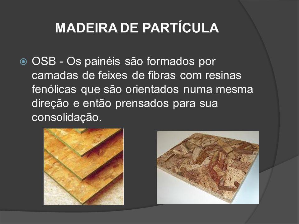 MADEIRA DE PARTÍCULA