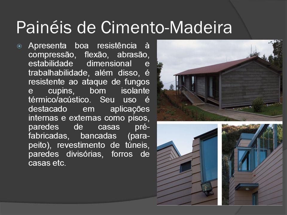 Painéis de Cimento-Madeira