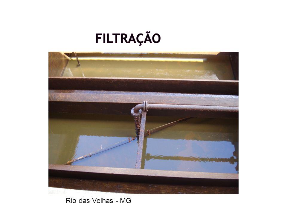 Filtração Rio das Velhas - MG