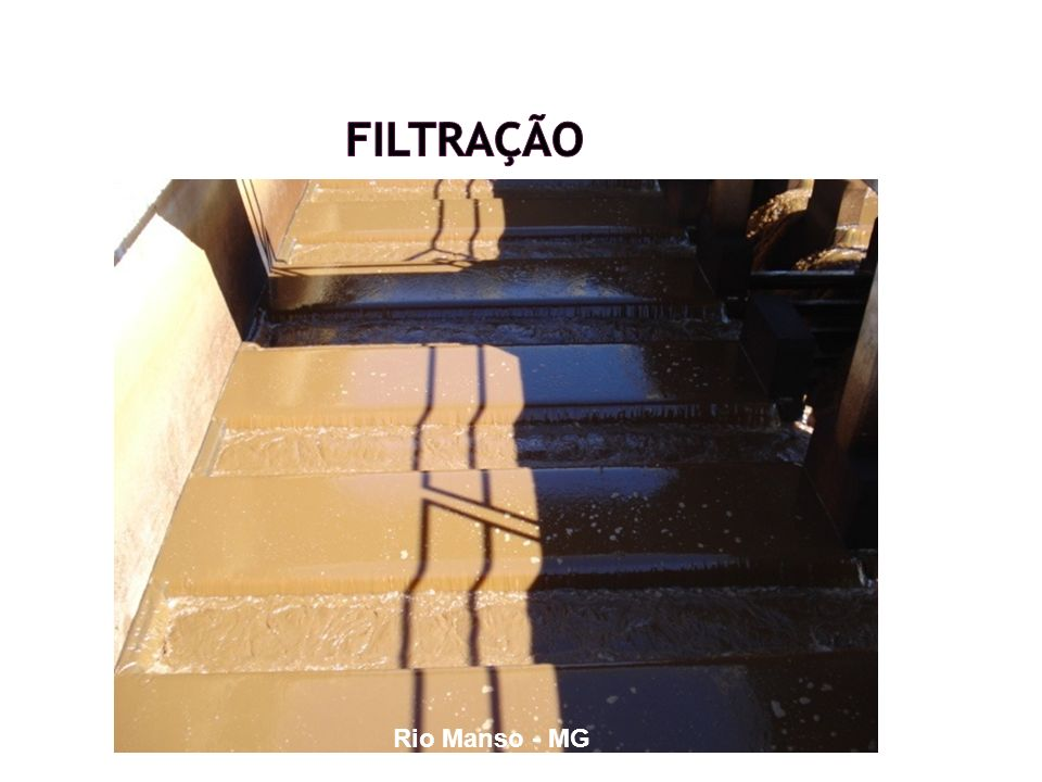 Filtração Rio Manso - MG