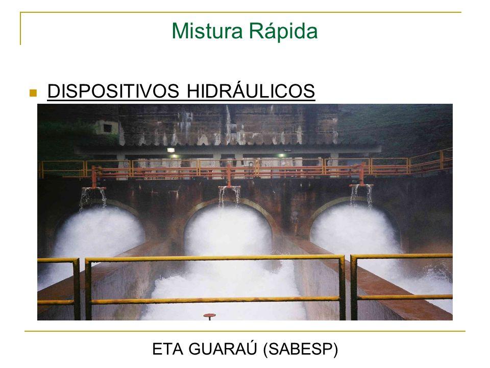 Mistura Rápida DISPOSITIVOS HIDRÁULICOS ETA GUARAÚ (SABESP)