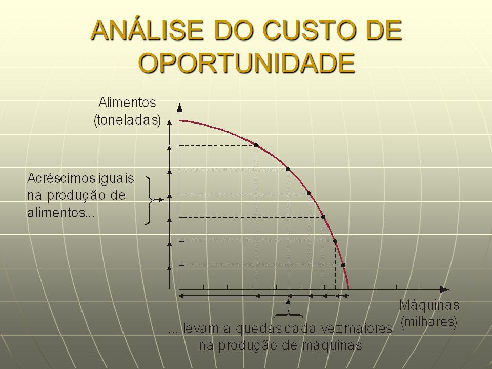 ANÁLISE DO CUSTO DE OPORTUNIDADE
