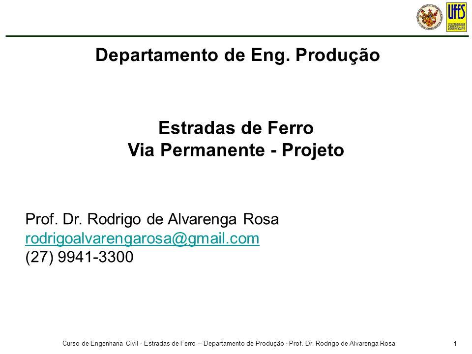 Prof. Rodrigo de Alvarenga Rosa