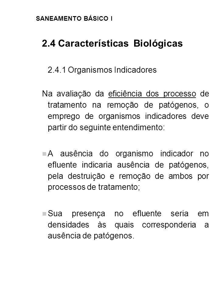2.4 Características Biológicas