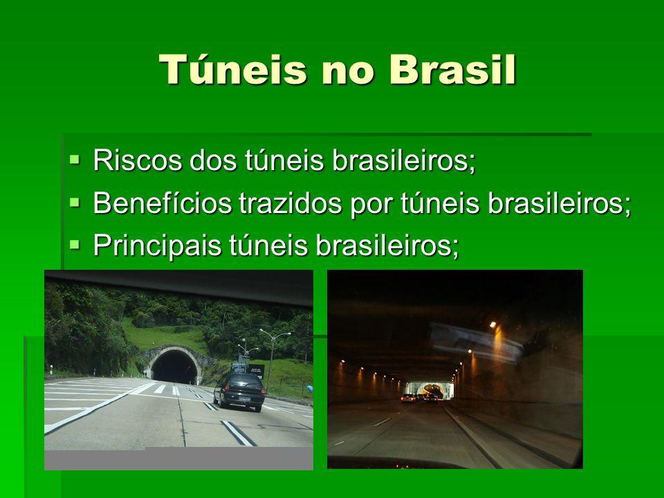 Túneis no Brasil Riscos dos túneis brasileiros;