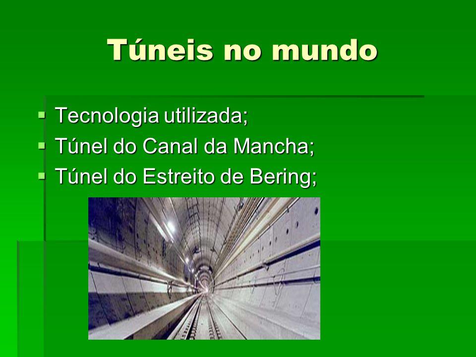 Túneis no mundo Tecnologia utilizada; Túnel do Canal da Mancha;