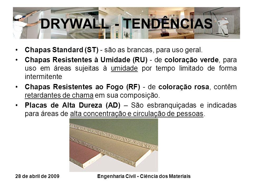 Engenharia Civil - Ciência dos Materiais
