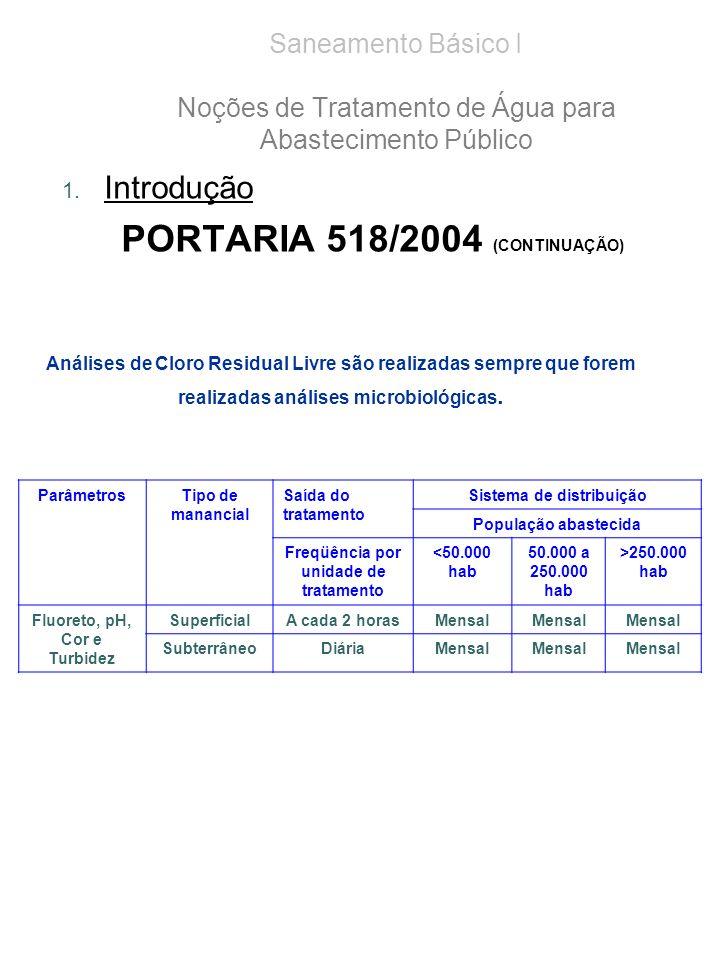 PORTARIA 518/2004 (CONTINUAÇÃO)