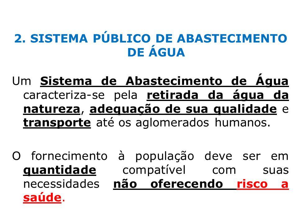 2. SISTEMA PÚBLICO DE ABASTECIMENTO DE ÁGUA