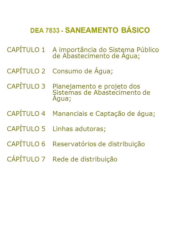DEA 7833 - SANEAMENTO BÁSICO